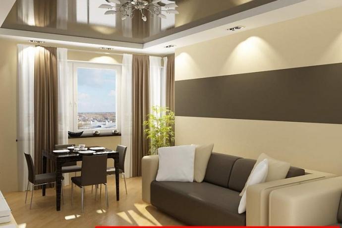 Капитальный ремонт двухкомнатной квартиры фото портфолио