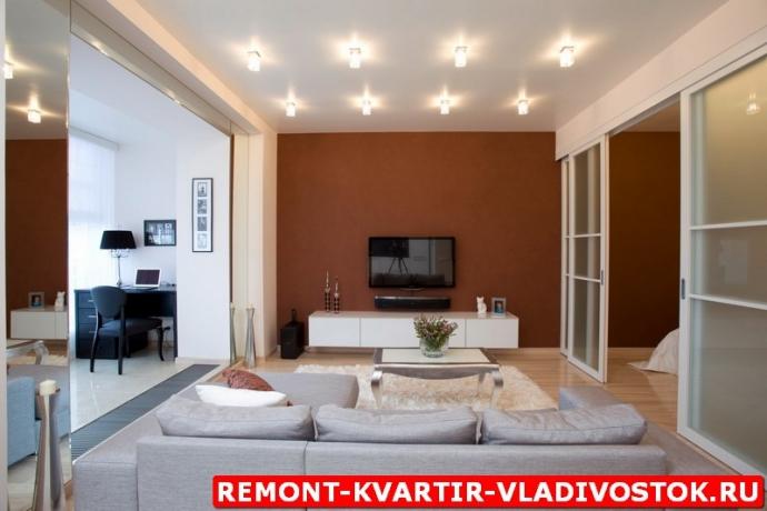 Капитальный ремонт однокомнатной квартиры фото потрфолио