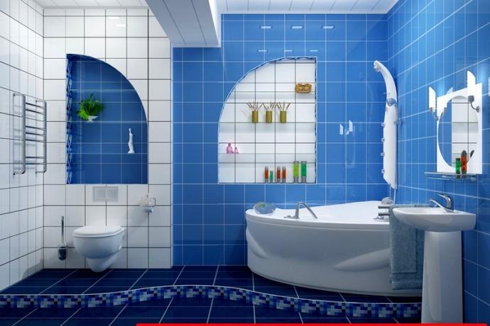 Ремонт ванной комнаты фото портфолио