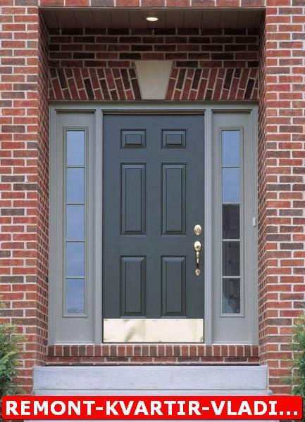 входные железные двери в жилой дом