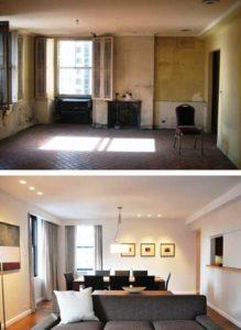 Фото ремонта квартир до и после