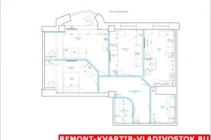 dizajn_interera_trehkomnatnoj_kvartiry_foto_2