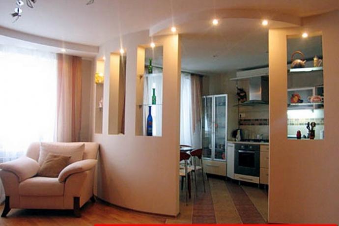 Капитальный ремонт однокомнатной квартиры